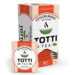 Чай черный TOTTI Tea «Магия Цейлона», пакетированный, 2г*25*32 (tt.51505)
