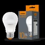 Лампа LED Videx А+ 10w E27 3000k 220v 1000 Lm (VL-A60e-10273)