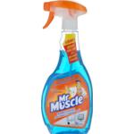 Средство для мытья стекол Mr.Muscle 0,5 л, насос-расп, синий (w.01013)