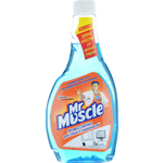 Средство для мытья стекол Mr.Muscle 0,5 л, сменный, синий (w.01020)
