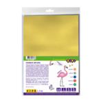 Фоамиран цветной металлизированный ZiBi А4 5 листов – 5 цветов 2 мм Kids Line (ZB.1838)
