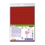 Фоамиран цветной с блестками ZiBi Блестки А4 5 листов – 5 цветов 2 мм Kids Line (ZB.1840)