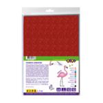 Фоамиран цветной с блестками ZiBi Блестки А4 10 листов – 10 цветов 2 мм Kids Line (ZB.1841)