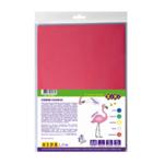 Фоамиран цветной самоклеющийся ZiBi А4 5 листов – 5 цветов 1 мм Kids Line (ZB.1843)