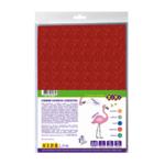 Фоамиран с блестками самоклеящийся ZiBi А4 5 листов – 5 цветов 2 мм Kids Line (ZB.1848)