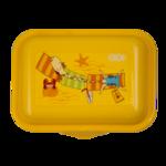 Контейнер для еды ZiBi, 138*104*54мм, желтый (ZB.3050-08)