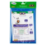 Набор обложек для учебников ZiBi 4 класс 250 мкм 5 шт. Kids Line тонированный Синий (ZB.4764)