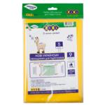 Набор обложек для учебников ZiBi 5 класс 250 мкм 9 шт. Kids Line тонированный Желтый (ZB.4765)