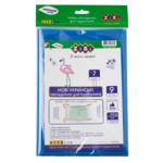 Набор обложек для учебников ZiBi 7 класс 250 мкм 9 шт. Kids Line тонированный Синий (ZB.4767)