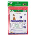 Набор обложек для учебников ZiBi 8 класс 250 мкм 9 шт. Kids Line тонированный Красный (ZB.4768)