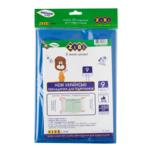 Набор обложек для учебников ZiBi 9 класс 250 мкм 9 шт. Kids Line тонированный Синий (ZB.4769)