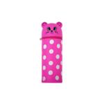 Пенал силиконовый ZiBi Котенок 19х6 см Kids Line Розовый (ZB.704216)