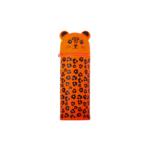 Пенал силиконовый ZiBi Леопардик 19х6 см Kids Line Оранжевый (ZB.704218)