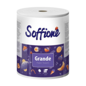 Полотенца целлюлозные Soffione GRANDE 1 рулон двухслойный белый (рп.sf.gr.1б)
