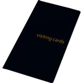 Визитница Panta Plast, 96 визиток, черный (0304-0005-01)