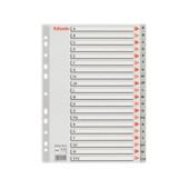Разделители пластиковые Esselte, РР, А4, A-Z (100112)