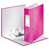 Папка-регистратор Leitz WOW с механизмом 180°, А4 80 мм, розовый металлик (1005-00-23)