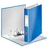 Папка-регистратор Leitz WOW с механизмом 180°, А4 50мм, синий металлик (1006-00-36)