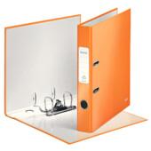 Папка-регистратор Leitz WOW с механизмом 180°, А4 50мм, оранжевый металлик (1006-00-44)