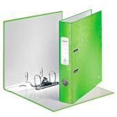 Папка-регистратор Leitz WOW с механизмом 180°, А4 50мм, зеленый металлик (1006-00-54)