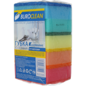 Губки кухонные BuroClean EuroStandart, 100х70мм, 5 шт (10200211)