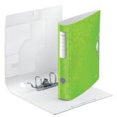 Папка-регистратор Leitz Active WOW 180°,  65мм, зеленая (1107-00-54)