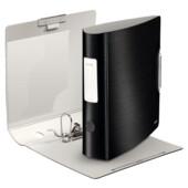 Папка-регистратор Leitz Active Style 180°, 82мм, сатиновый черный (1108-00-94)