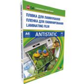 Пленка для ламинирования глянцевая D&A Antistatic 111х154 мм (А6), 80 мкн, 100 шт (11201011007YA)