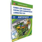 Пленка для ламинирования глянцевая D&A Antistatic 303х426 мм (А3), 75 мкн, 100 шт (11201011306YA)