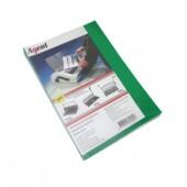 Обложки пластиковые Agent прозрачные A4 зеленые 200мкн 100 шт (1510496)