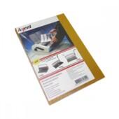 Обложки пластиковые Agent прозрачные A4 желтые 150мкн 100 шт (1510491)