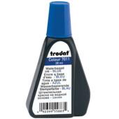 Штемпельная краска в блистере Trodat 7011, 28мл, 2 шт, синий