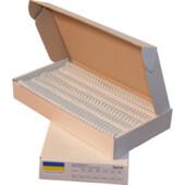 Пружины металлические Agent, 15,9 мм, белый, 50 шт (1216071)