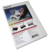 Обложки картонные Agent, глянцевые, белые, А4, 250 г/м2, 100 шт (1523071)