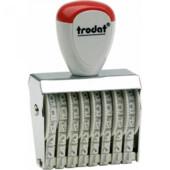 Нумератор ленточный Trodat 1548, 8-ми разрядный, 4 мм