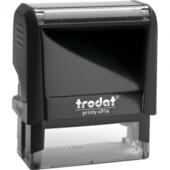 Оснастка для штампа Trodat Printy 4914 черная (4914 чорна)