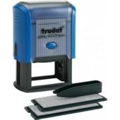 Самонаборный штамп 6-ти строчный Trodat Printy 4929, лат, синий