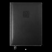 Ежедневник датированный 2022 Buromax Bravo А4 L2U черный 336 с (BM.2740-01)