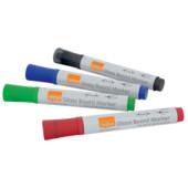 Набор маркеров Nobo Glass Whiteboard Marker ассорти 4 шт (1905324)