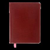 Ежедневник недатированный Buromax BRAVO А5 бордовый 288 с (BM.2002-13)