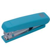 Степлер Buromax Rubber Touch, скобы №10, 12 л, голубой (BM.4128-14)