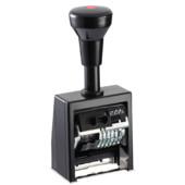 Автоматический нумератор Reiner B6K, 8-ми разрядный, 5,5 мм, шрифт-antigue, пластик