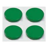 Магниты Dahle, 32 мм, 4 шт, зеленый (7010317)