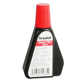 Штемпельная краска Trodat 7011, 28 мл, красный