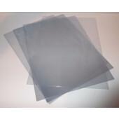 Обложки пластиковые D&A, прозрач, бесцв, А3, 150 мкн, 100 шт (1220102019100)