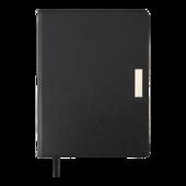 Ежедневник недатированный Buromax SALERNO А5 черный 288 с (BM.2026-01)
