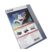 Обложки пластиковые Agent, прозрач, бесцв, А3, 150 мкн, 100 шт (1510078)