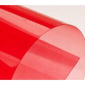 Обложки пластиковые Agent, прозрач, красные, А4, 180 мкн, 100 шт (1510472)