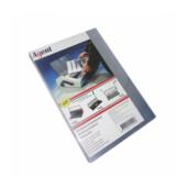 Обложки пластиковые Agent, прозрач, бесцв, А4, 200 мкн, 100 шт (1510279)