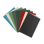 Обложки картонные Agent, под кожу, ассорти, А4, 230 г/м2, 100 шт (1521295)
